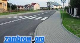Remonty dróg w Zambrowie - raport
