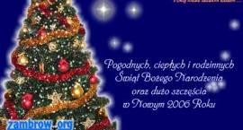 Z okazji Świąt Bożego Narodzenia