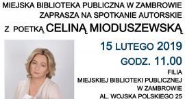 Biblioteka zaprasza na spotkanie z poetką Celiną Mioduszewską