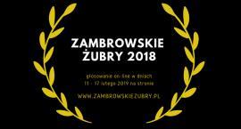 Zagłosuj na nominowanych do Zambrowskich Żubrów 2018