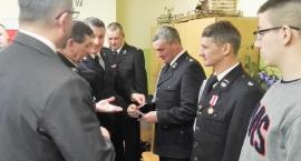 Kierownictwo Komendy Powiatowej PSP w Zambrowie spotkało się z członkami OSP