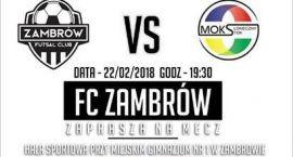 Futsal Club Zambrów zagra dla Marcelka! Każdy kibic to dodatkowe 5 zł