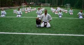 Karatecy szlifowali formę w Wilkasach