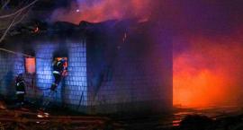 Bardzo duże straty po pożarze w Szlasach-Mieszkach