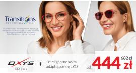 Okulary korekcyjne i przeciwsłoneczne w jednym już do 444 zł