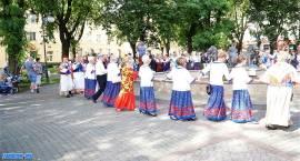 Kapele ludowe zagrały w Zambrowie [foto + video]