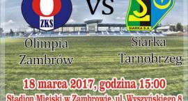 Jutro mecz Olimpia Zambrów vs. Siarka Tarnobrzeg. Jednak nie będzie transmisji na żywo!