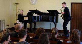 Koncert saksofonowy w zambrowskiej PSM [foto]