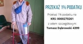 Przekaż 1% podatku na rzecz Tomasza Dąbrowskiego