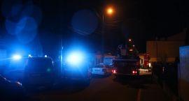 Zambrowscy strażacy walczyli z pożarem [foto+video]