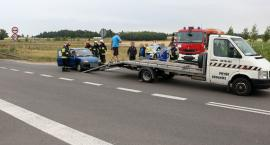 Kolizja na skrzyżowaniu niedaleko Rutek [foto]