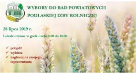 Znamy kandydatów do Rady Powiatowej Podlaskiej Izby Rolniczej w powiecie zambrowskim
