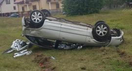 Mazda dachowała w Zbrzeźnicy [foto]