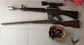 Broń i amunicję ukrywał w lesie. 25-latek trafił do aresztu