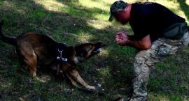 Warsztaty dla przewodników psów służbowych w Czerwonym Borze [foto]