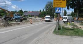 Utrudnienia w związku z przebudową drogi Zambrów - Osipy