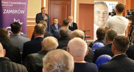 Zambrowscy kandydaci PiS do sejmu i senatu przedstawili swój program wyborczy [video]