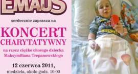 Przyjdź na koncert! Pomóż choremu Maksymilianowi