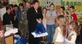 Choinka w szkole w Ostrożnem