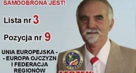 Leszek Mikucki - kandydat do Europarlamentu z Zambrowa