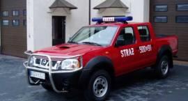 Nowy samochód w Straży Pożarnej