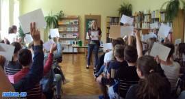 Beata Ciecierska spotkała się z dziećmi w MBP [foto]