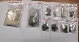 Diler narkotykowy zatrzymany. Miał amfetaminę i marihuanę