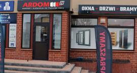 ARDOM – solidne okna, drzwi, bramy, rolety. Duży wybór!