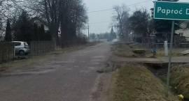 Czarne chmury nad przebudową drogi Srebrna – Paproć Duża