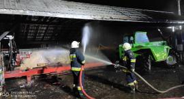 Pożar tartaku w Kołakach Kościelnych