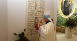Relikwie św. Maksymiliana Kolbego trafiły do nowej kapliczki w parafii Ducha Świętego [foto]