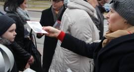 Kandydat na senatora Jerzy Ząbkiewicz pojawił się na ulicach Zambrowa [foto]