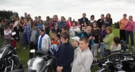 Motocykliści spotkali się z uczniami SOSW