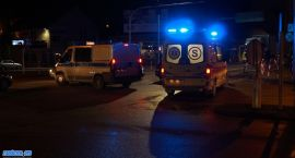 Czołowe zderzenie w centrum miasta [foto + video]