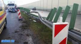 Ciężarówka wpadła w poślizg na S8 [foto]