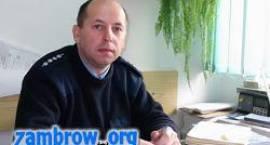 Czy znasz swojego dzielnicowego? Wywiad z kierownikiem Rewiru Dzielnicowych w Zambrowie.