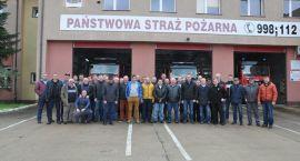 Wyjazdowe szkolenie strażaków powiatu zambrowskiego