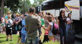 Młodzież i dzieci z Zambrowa wyjechali nad morze