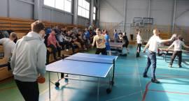 Rozegrano IV Otwarte Mistrzostwa Gminy Zambrów w Tenisie Stołowym [foto]