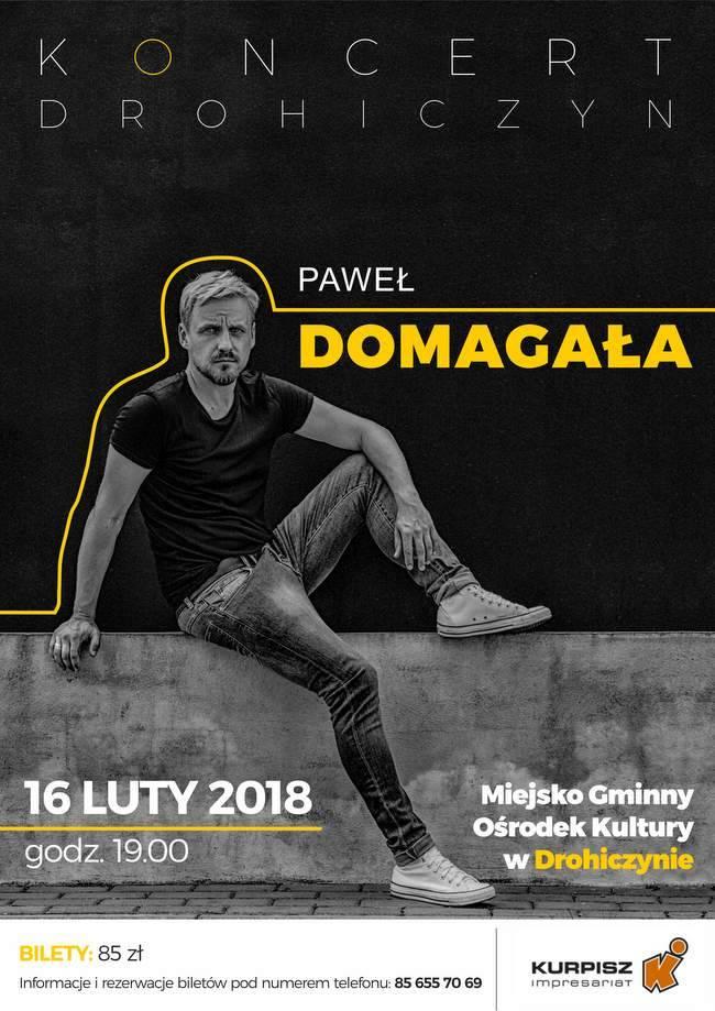 Muzyka - Koncerty, Koncert Paweł Domagała Drohiczynie - zdjęcie, fotografia
