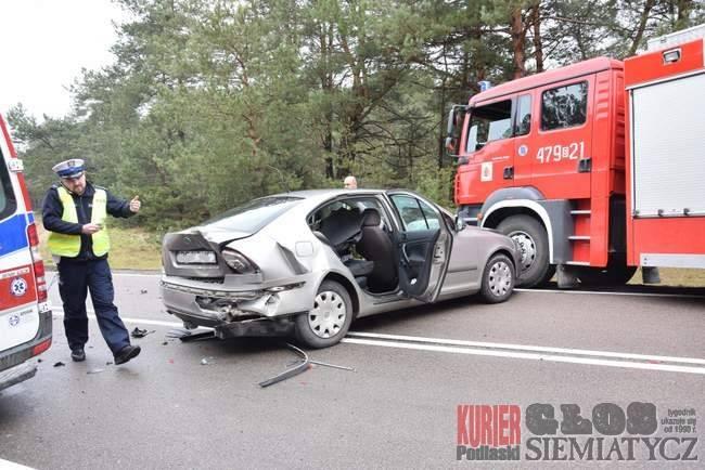 Wypadki drogowe, Wypadek Tonkielach - zdjęcie, fotografia