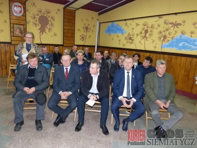 Goście na sesji w Dziadkowicach