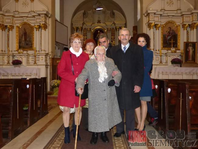 Sto lat pani Marianny