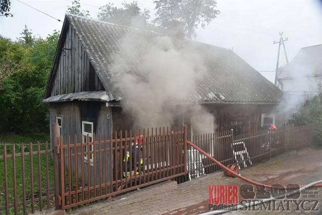 Pożary - straż, pożary jednego - zdjęcie, fotografia