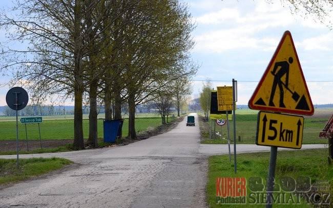 Nowa droga z Perlejewa do Ostrożan