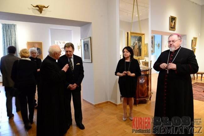 Wernisaże - spotkania , Wystawa Fundacji Ciechanowieckich Zamku Królewskiego - zdjęcie, fotografia