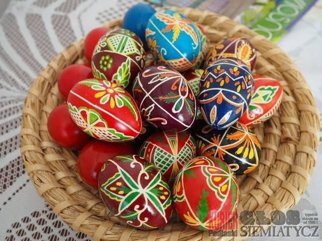 Jajka jak malowane