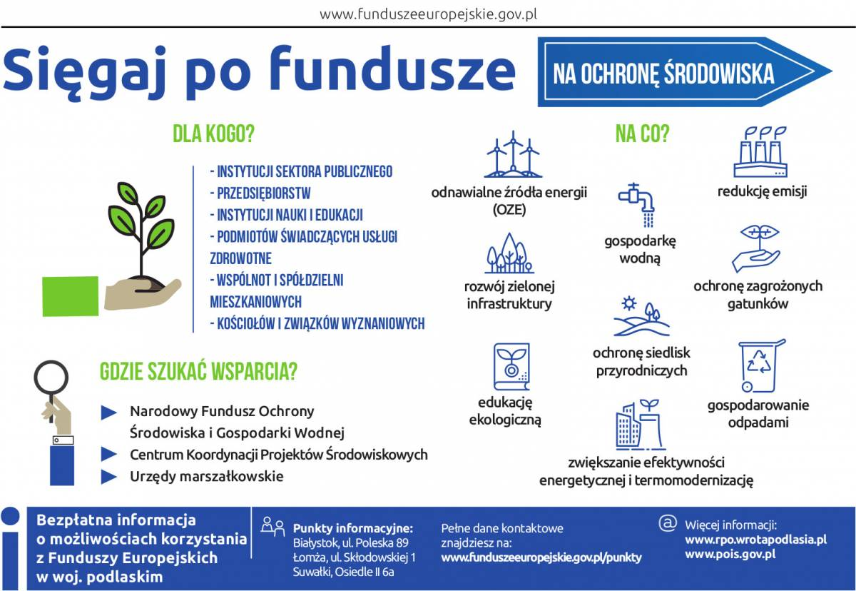 Fundusze Europejskie, energia kontrolą - zdjęcie, fotografia