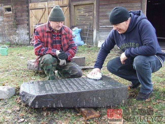 Macewy znalezione w Milejczycach