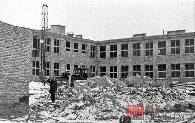 Notatnik historyczny, szkoły Siemiatyczach - zdjęcie, fotografia